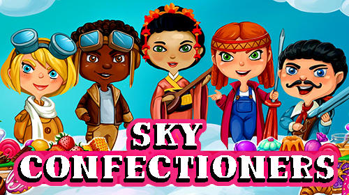 Sky confectioners: 3D puzzle with sweets poster
