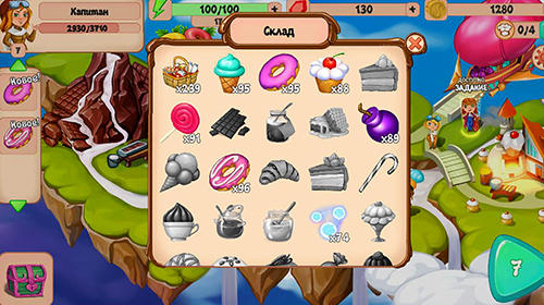 Sky confectioners: 3D puzzle with sweets screenshot 5