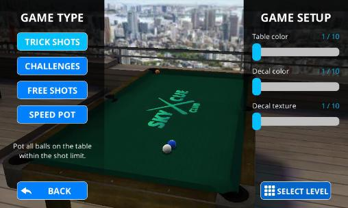 Sky cue club: Pool and Snooker screenshot 1