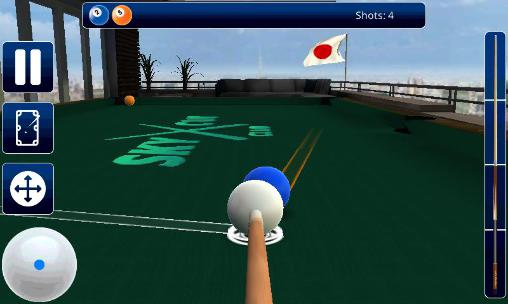 Juega a Sky cue club: Pool and Snooker para Android. Descarga gratuita del juego Club celestial del taco: Billar y snooker.