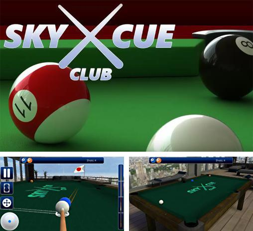 En plus du jeu Pool professionnel: billard 3D  pour téléphones et tablettes Android, vous pouvez aussi télécharger gratuitement Club queue céleste: Billard et snooker, Sky cue club: Pool and Snooker.