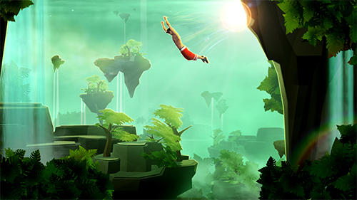 Screenshots von Sky dancer: Parkour freerunner für Android-Tablet, Smartphone.