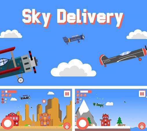Кроме игры Alien spaceship war: Aircraft fighter скачайте бесплатно Sky delivery: Endless flyer для Android телефона или планшета.