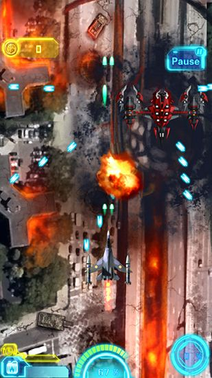 Sky fighter: War machine screenshot 2