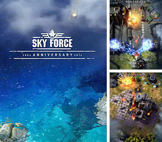 In addition to the game Plasma Sky - rad space shooter for Android phones and tablets, you can also download Sky force 2014 for free.