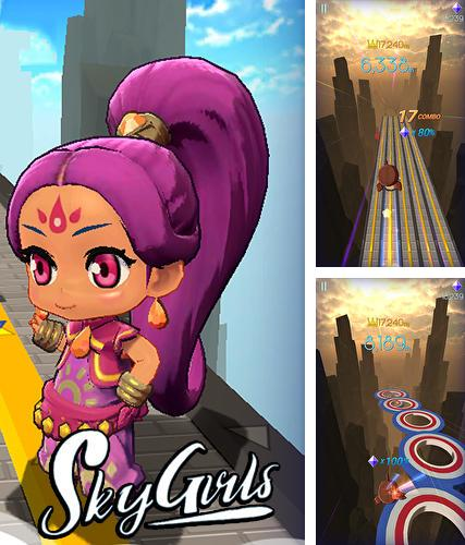 Sky girls: Flying runner game