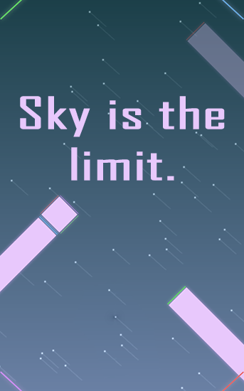 Sky is the limit. poster