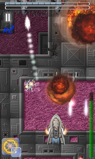 Гра Sky metal: Space shooting battle на Android - повна версія.