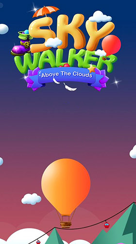 Sky walker: Above the clouds