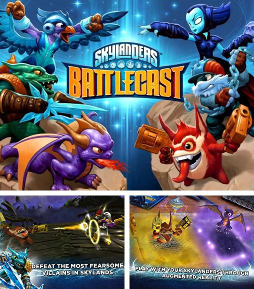In addition to the game Skylanders: Battlegrounds for Android phones and tablets, you can also download Skylanders: Battlecast for free.