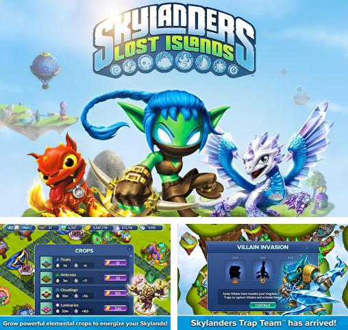 In addition to the game Skylanders: Battlegrounds for Android phones and tablets, you can also download Skylanders: Lost islands for free.