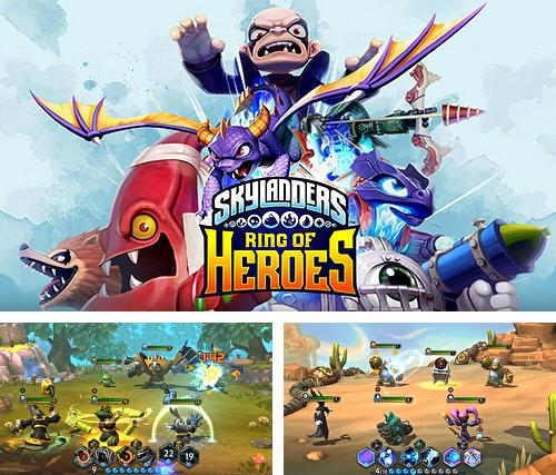 In addition to the game Skylanders: Battlegrounds for Android phones and tablets, you can also download Skylanders: Ring of heroes for free.