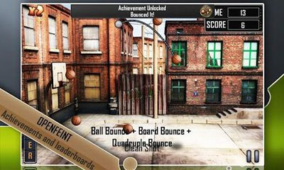 Slam Dunk Basketball скриншот 2