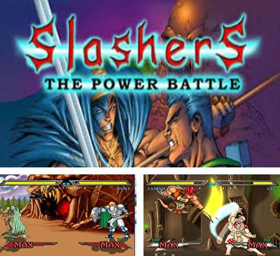 En plus du jeu Le combat de Rambo  pour téléphones et tablettes Android, vous pouvez aussi télécharger gratuitement Slashers: La Bataille Intense, Slashers: Intense Weapon Fight.