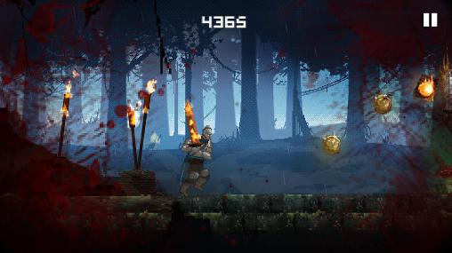 Screenshots of the Slashy souls for Android tablet, phone.