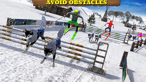 Screenshots von Sled dog racing 2017 für Android-Tablet, Smartphone.