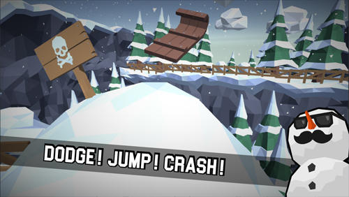 Sledge: Snow mountain slide screenshot 1