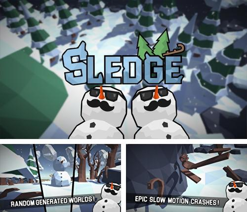 Sledge: Snow mountain slide