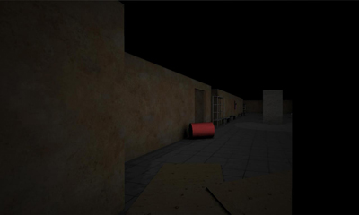 Screenshots of the Slender: The Asylum for Android tablet, phone.