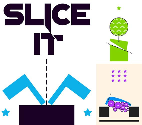 Slice it: Physics puzzles