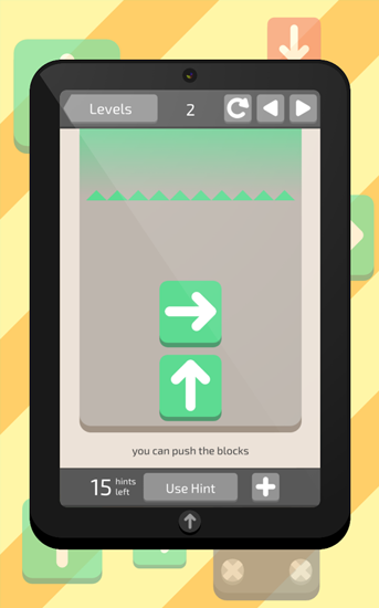 Slide up! für Android spielen. Spiel Slide Up! kostenloser Download.