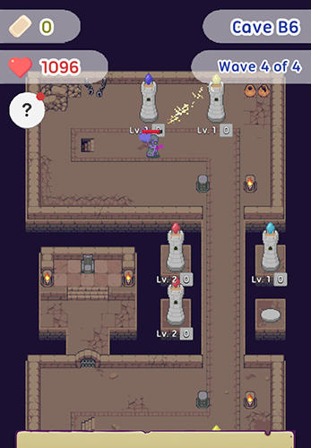 Android タブレット、携帯電話用Slime Defense: Idle tower defenseのスクリーンショット。
