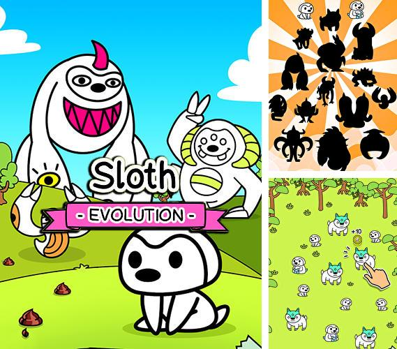 Sloth evolution: Tap and evolve clicker game