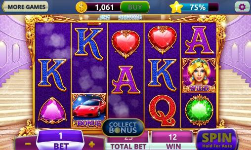 Screenshots von Slots: Diamonds casino für Android-Tablet, Smartphone.