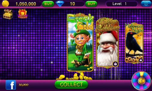 Screenshots von Slots fairytale 2016: Royal slot machines fever für Android-Tablet, Smartphone.