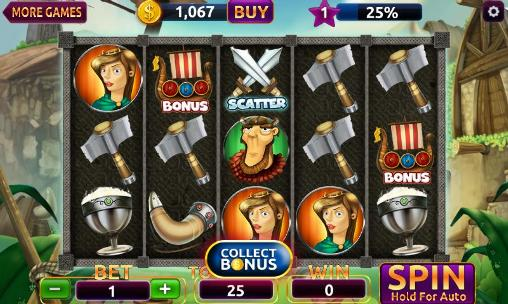 Screenshots von Slots vikings casino Vegas für Android-Tablet, Smartphone.