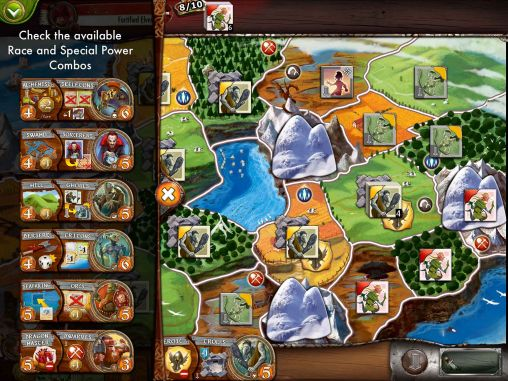 Screenshots von Small World 2 für Android-Tablet, Smartphone.