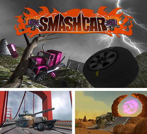 In addition to the game Monster trucks X: Mega bus race for Android phones and tablets, you can also download Smash car for free.