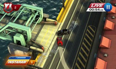 Screenshots von Smash Cops Heat für Android-Tablet, Smartphone.
