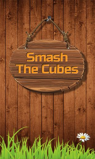 Smash the cubes poster