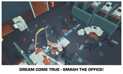 Smash the Office - Stress Fix! screenshot 1