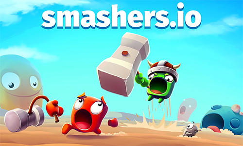 Smashers.io: Foes in worms land poster