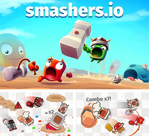Smashers.io: Foes in worms land