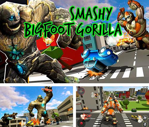 Smashy bigfoot gorilla