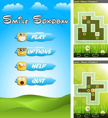 In addition to the game Lightpath for Android phones and tablets, you can also download Smile Sokoban for free.