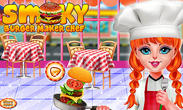 Smoky burger maker chef: Cooking games for girls APK