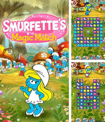 Smurfette's magic match