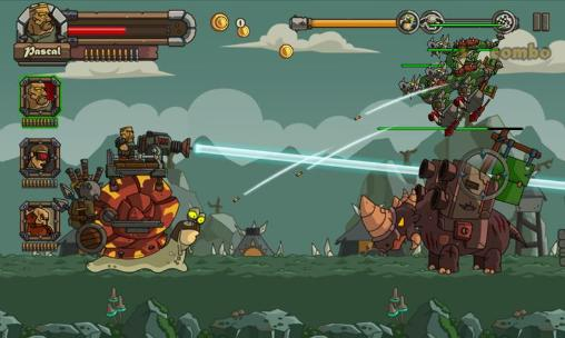 Screenshots do Metal slug defense - Perigoso para tablet e celular Android.