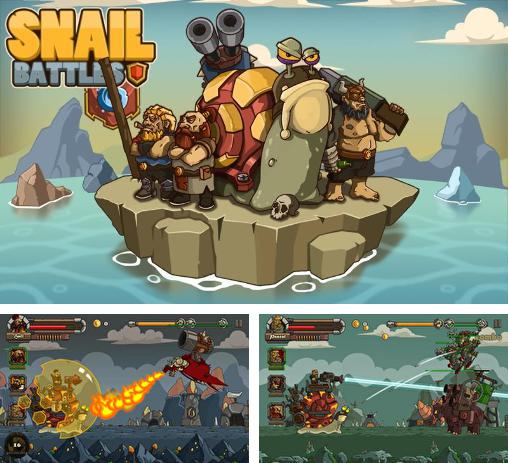 In addition to the game Mars of Legends for Android phones and tablets, you can also download Snail battles for free.