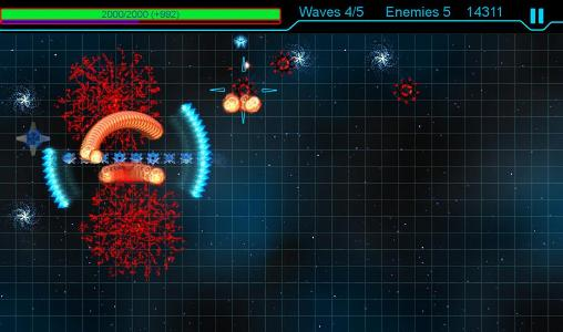 Screenshots do Snake defender - Perigoso para tablet e celular Android.