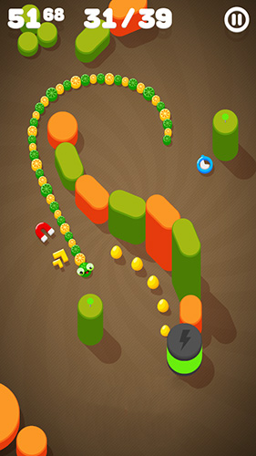 Snake on a string screenshot 3
