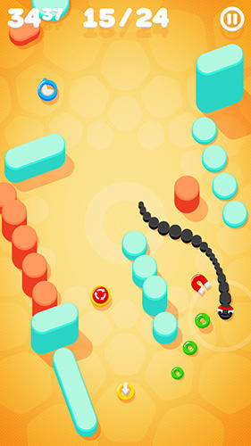 Snake on a string screenshot 4