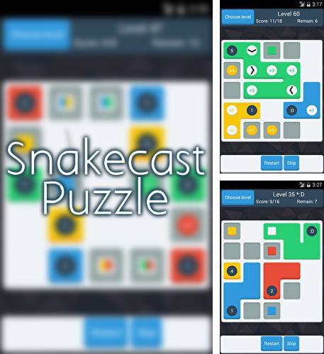 In addition to the game Pick a Piggy for Android phones and tablets, you can also download Snakecast puzzle for free.