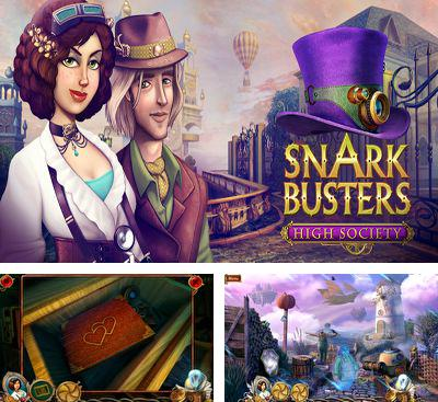 In addition to the game Natalie Brooks: The Treasures of the Lost Kingdom for Android phones and tablets, you can also download Snark Busters High Society for free.