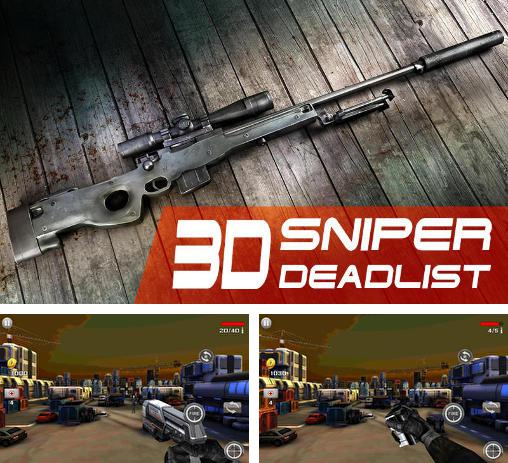 In addition to the game Zombie elite sniper for Android phones and tablets, you can also download Sniper 3D: Deadlist for free.