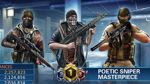 Kostenloses Android-Game Sniper 3D: Strike Assassin Ops. Vollversion der Android-apk-App Hirschjäger: Die Sniper 3D: Strike assassin ops für Tablets und Telefone.